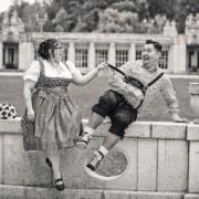 bayrisches Hochzeitsfoto