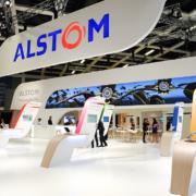 Alstom Messestand