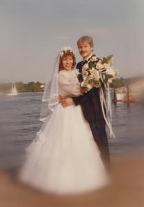 Hochzeitsfoto 1980