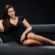 Foto elegante Frau